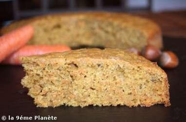 Gâteau à la carotte (carrot-cake)