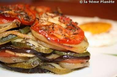 Tian aux 5 légumes : le soleil du midi dans votre assiette...