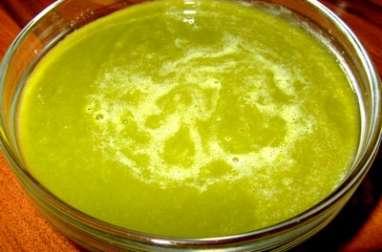 Soupe de fanes de navets