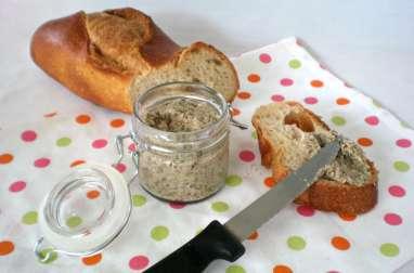 Pâté aux champignons...diététique, végétarien & sans gluten