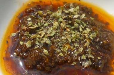Sauce argentine chimichurri