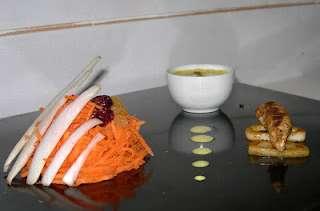 Endives & Carottes en salade marocaine