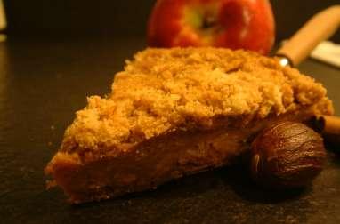 Crumble pommes-cannelle