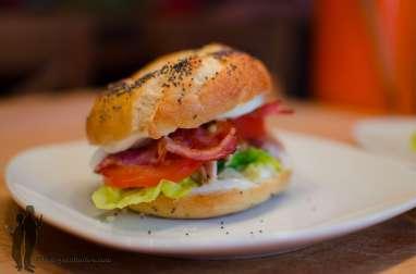 Bagels façon club sandwich