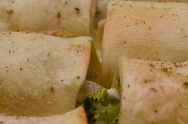 Cannellonis au jambon et au brocoli