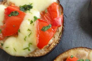 Aubergines tomates mozzarella