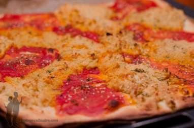 Pizza libanaise ou au sésame