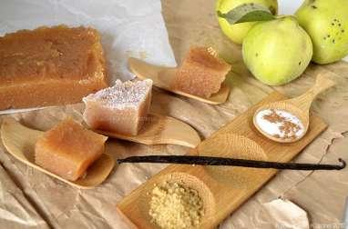 Pâte de coing à la vanille et cannelle