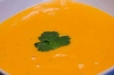 Purée crémeuse de carottes au goût fumé