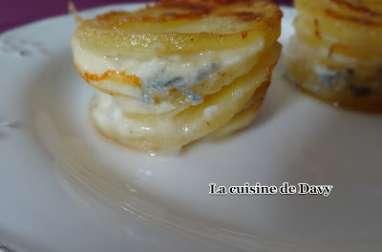 Mini gratin de pomme de terre à l'italienne
