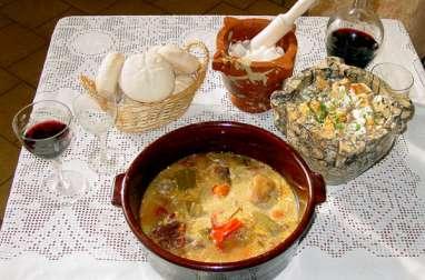 Légumes bouillis a le style de Jijona (Alicante)