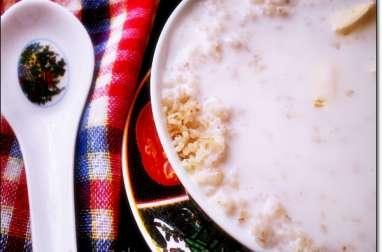 Couscous à la semoule d'orge (belboula) au petit lait