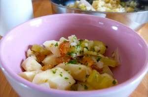 Poêlée de panais, fenouil et céleri