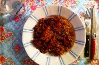 Poulet au miel et sauce soja