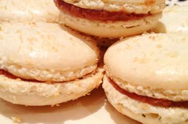 Macarons façon Bounty