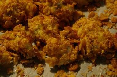 Nuggets de poulet panés au kellogs