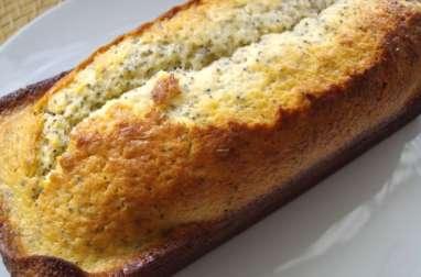 Cake au citron et aux graines de pavot