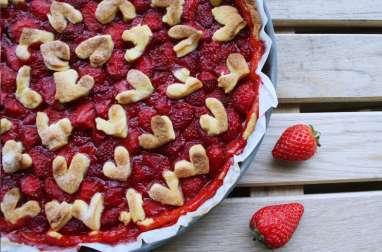 Love pie tarte aux fraises