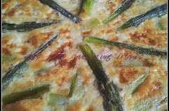La tarte aux asperges et au poulet