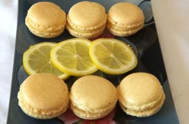 Macarons à la meringue suisse et Macarons au citron