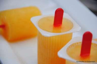 Petites glaces à l'orange, rigolotes et ultra simples
