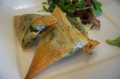Samoussas ou briwat aux épinards et thon