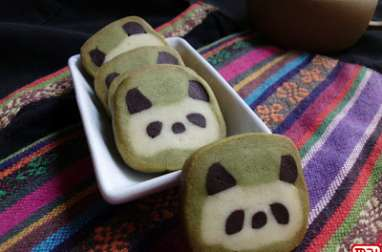 Petit biscuit panda