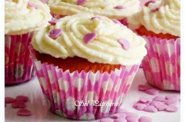 Cupcakes roses et nouveau partenariat
