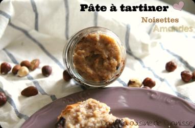 Pâte à tartiner : noisettes amandes