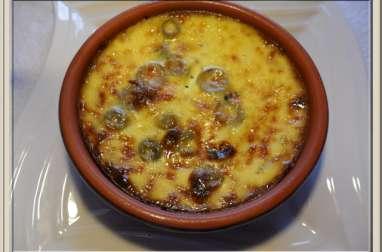 Clafoutis au thon et aux olives