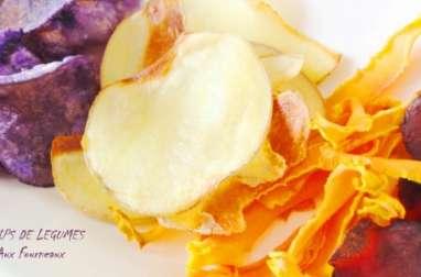 Chips de légumes au four