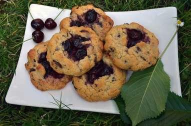 Cookies moelleux Chocolat noir et Cerises