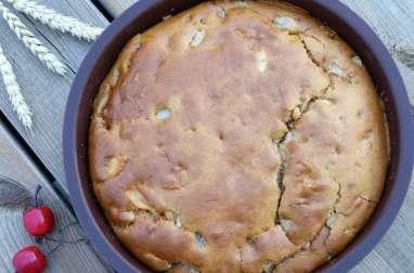 Gâteau aux poires et aux pommes