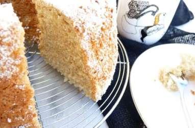 Chiffon cake au thé BB detox de Kusmi tea