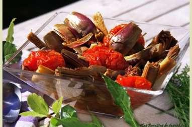 Artichauts poivrade à la provençale