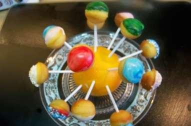 Cake pops coeur coulant miel et citron
