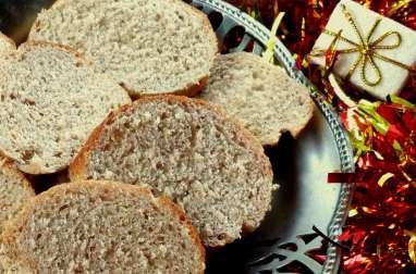 Pain brioché aux épices spécial foie gras