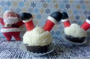 Cupcake Père Noël