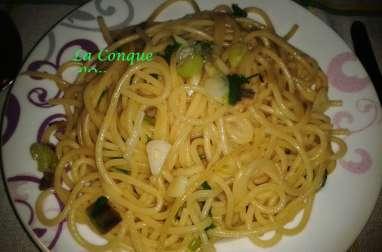 Spaghettis ail et persil