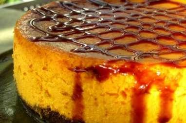 Cheesecake d'automne au potimarron