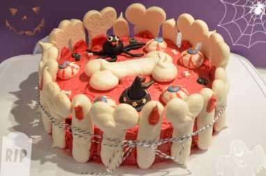 Gâteau Hall-OS-ween aux doigts de sorcière