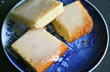 Brownies chocolat blanc et citron