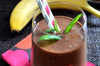 Smoothie au Chocolat Cru & Amande