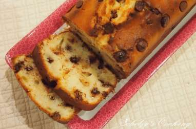 Cake à la ricotta aux pépites de chocolat