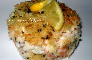 gratin de fruits de mer sauce Mornay