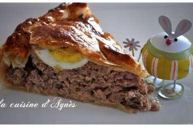 pâté de Pâques de Cyril Lignac