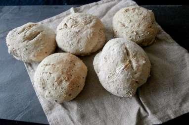 Petits pains aux mélange de graines