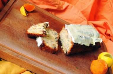 Cake glacé au citron gingembre et clémentine