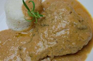 Mafé (sauce d'arachide) au Tilapia