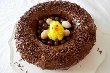 Nid de Pâques au Nutella très facile